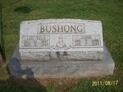 Lou Ella <i>Newbury</i> Bushong