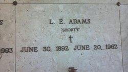 Lawrence E Shorty Adams