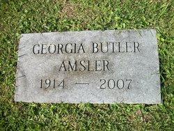 Georgia M. <i>Butler</i> Amsler