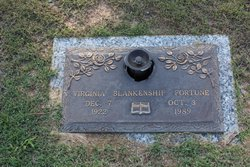 Virginia Dare <i>Blankenship</i> Fortune