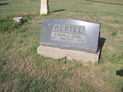 Edna O. <i>Tipton</i> Hertel
