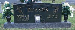 Mrs Anne Rye Deason