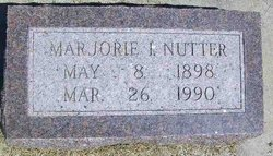 Marjorie I. Nutter