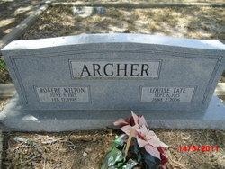Robert Milton Archer