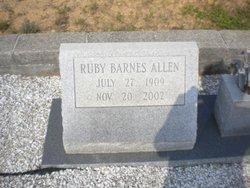 Ruby <i>Barnes</i> Allen