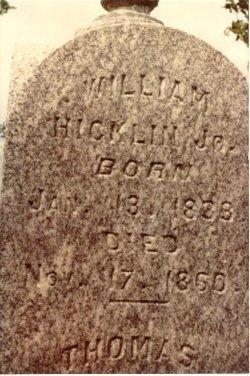 William Hicklin, Jr