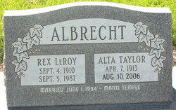 Alta Fern <i>Taylor</i> Albrecht