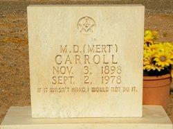 Merritt Douglas Mert Carroll