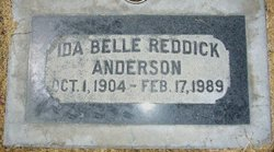Mrs Ida Belle <i>Hanke</i> Anderson