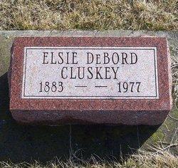 Elsie M <i>DeBord</i> Cluskey