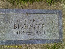 Hester H <i>Hatch</i> Bissinger