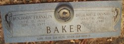 Delilah Annie Jerome <i>Taylor</i> Baker