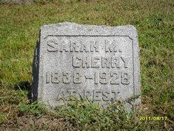 Sarah Mina <i>Smith</i> Cherry