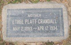 Ethel <i>Platt</i> Crandall