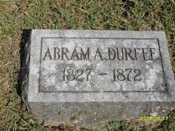 Abram A. Durfee
