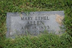 Mary Ethel <i>Garrard</i> Allen