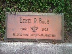 Ethel Ruth <i>Fein</i> Bach