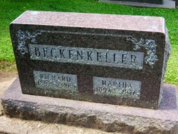 Martha <i>Gast</i> Beckenkeller