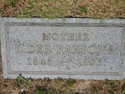 Locasta Oedema Dee <i>Bishop</i> Parsons