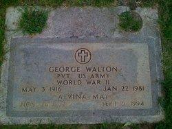 Alvina May <i>Montgomery</i> Walton