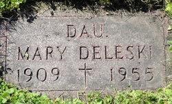 Mary <i>Bieniski</i> Deleski
