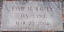 Essie M. Bailey