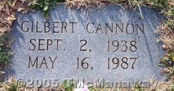 Gilbert Cannon
