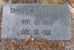 Ernest M Alsobrook