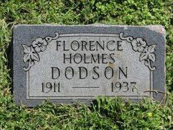 Florence <i>Holmes</i> Dodson