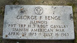 Pvt George Franklin Benge