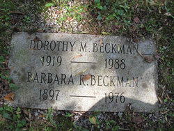 Barbara R Beckman