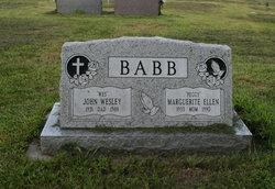 Marguerite Ellen Peggy <i>Goetzke</i> Babb
