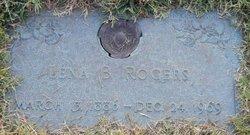 Lena B Rogers