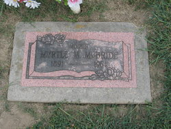 Myrtle Mamie <i>Masten</i> McBride
