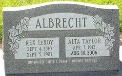 Rex LeRoy Albrecht