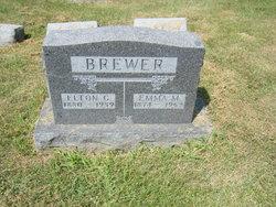 Emma M <i>Pierce</i> Brewer