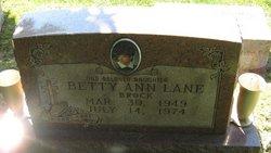 Betty Ann <i>Lane</i> Brock