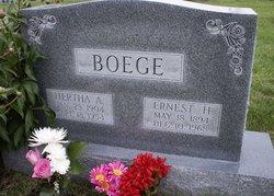 Ernest Henry Boege