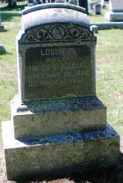 Louise P. Louisa <i>Whitcomb</i> Adams