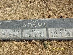 Zada <i>Landers</i> Adams
