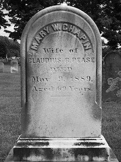Mary W. <i>Chapin</i> Pease