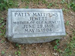 Patty Maria <i>Matthews</i> Jewett