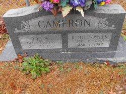 Mary Ruth <i>Fowler</i> Cameron