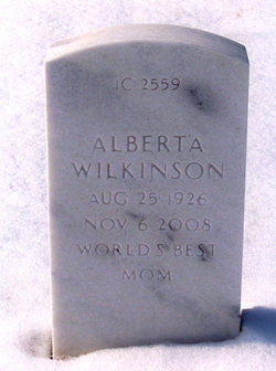 Mrs Alberta M Wilkinson