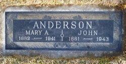 Mary Alice <i>Bailey</i> Anderson