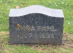 Anna Annie <i>Rathjen</i> Pahl