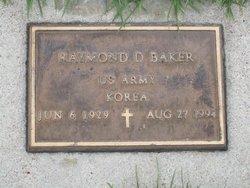 Raymond D Baker