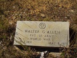 Walter G Allen