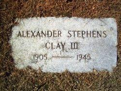 Alexander Stephens Clay, III