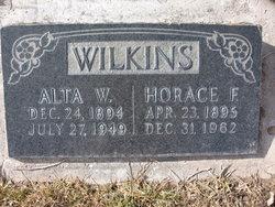 Alta <i>Webb</i> Wilkins